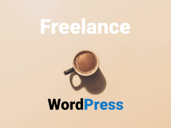 Une tasse à café WordPress